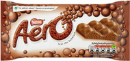 Nestle Aero Milk Chocolate Giant Bar 100g