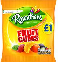 Rowntree Fruit Gums 120g