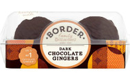 Borders Dark Chocolate Ginger Biscuits 175g