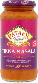 Pataks Tikka Masala Curry Sauce 450g