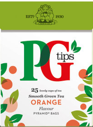 PG Fruit & Herbal Tea 25 Pack - Orange