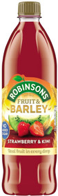 Robinsons NAS Fruit & Barley - Strawberry & Kiwi 1 Ltr
