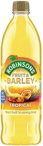 Robinsons NAS Fruit & Barley - Tropical Fruits 1 Ltr