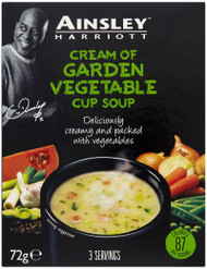 Ainsley Harriott Cup A Soup 3 Pack - Cream of Garden Veg 72g