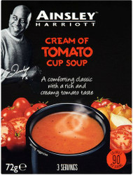 Ainsley Harriott Cup A Soup 3 Pack - Cream of Tomato 72g