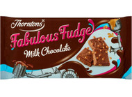 Thorntons Fabulous Fudge Milk Chocolate Bar 100g