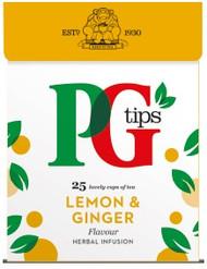 PG Fruit & Herbal Tea - Lemon & Ginger - Pack of 25