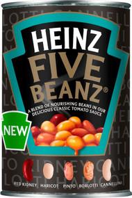 Heinz Beans 5 Beans 415g