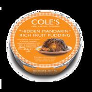 Coles Hidden Mandarin Rich Fruit Pudding 454g