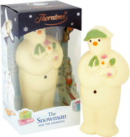 Thornton's The Snowman & The Dog Large Chocolate Model 200g