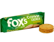 Foxs Ginger Crinkle Crunch Biscuits 200g