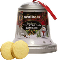 Walkers Shortbread Christmas Bell Tin 100g