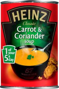 Heinz Carrot & Coriander Soup 400g