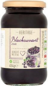 Heritage Blackcurrant Jam 454g