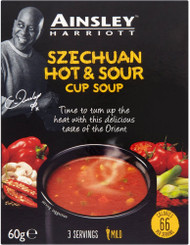 Ainsley Harriott Cup Soup 3 Sachet Pack - Szechuan Hot & Sour 60g