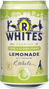 R Whites Pear & Elderflower Lemonade 330ml