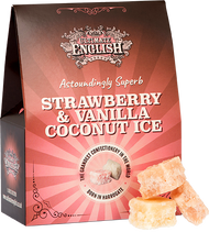 Ultimate English Strawberry & Vanilla Coconut Fudge 150g