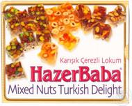 Hazer Baba Turkish Delight - Pistachio, Hazel, Almond 125g