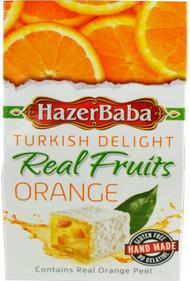 Hazer Baba Turkish Delight - Orange 100g