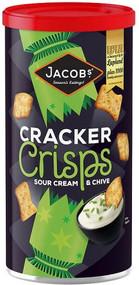 Jacobs Sour Cream & Chive Cracker Crisps 230g