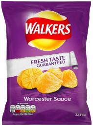 Walkers Crisps - Worcester Sauce 32.5g