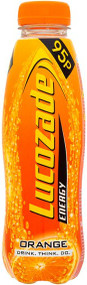 Lucozade Energy Orange 380 ml - Pack of 6 (Best Before End of Dec)