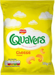 Quavers 21g - Case of 32 (Best Before Apr 29th)