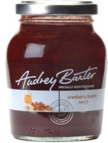 Audrey Baxter Signature Cranberry & Port Sauce 225g