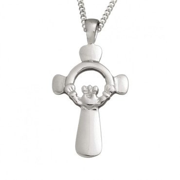 Claddagh And Celtic Cross With Chain