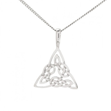 Trinity Knot Pendant And Chain