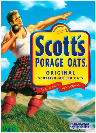 Scotts Porridge Oats - Large Box 1kg