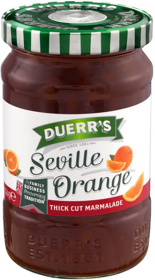 Duerrs Seville Orange Thick Cut Marmalade 454g