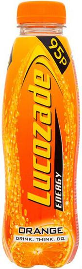 Lucozade Energy Orange 380 ml - Pack of 6 (Best Before End of Dec)