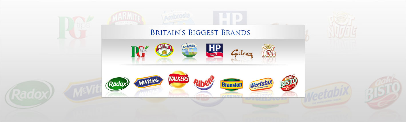 British Food and Brands for sale