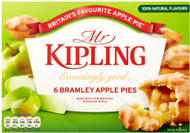 Mr Kipling Apple Pies Pack of 6