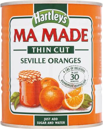 Hartleys Mamade Seville Thin Cut 850g