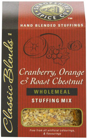 Shropshire Spice Co. Cranberry, Orange & Chestnut Stuffing Mix 150g