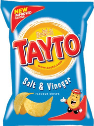 Tayto Salt & Vinegar 8 Pack