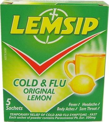 Lemsip Original Lemon 5 Pack