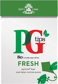 PG Tips The Fresh One 80 Pack (Best By End Nov 2016)