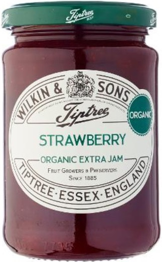 Wilkin & Sons Tiptree Organic Strawberry 340g