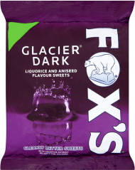 Fox's Glacier Mints Dark Bag 130g