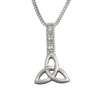 Celtic Trinity Knot Design With A Chain