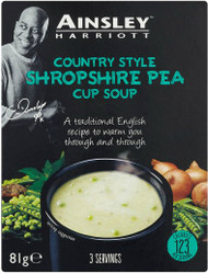 Ainsley Harriott Cup A Soup 3 Pack - Shropshire Pea 81g