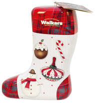 Walkers Shortbread Christmas Stocking Tin 200g