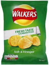 Walkers Crisps - Salt and Vinegar 32.5g