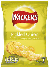 Walkers Crisps - Pickled Onion