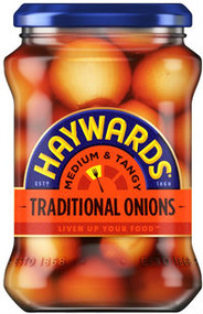 Haywards Traditional Pickled Onions 400g - 3 Pack