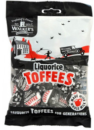 Walkers Nonsuch Liquorice Toffee 150g