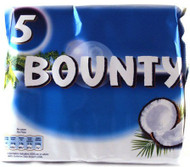 Bounty Milk Chocolate 5 Pack